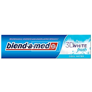 Blend-a-med 3D White Fresh Cool Water