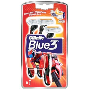 Gillette Blue3 RED