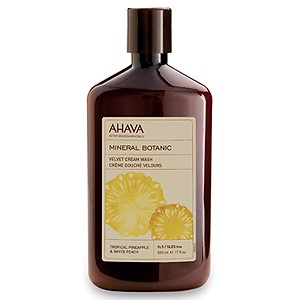 Ahava Mineral Botanic - Tropical Pineapple & White Peach 500 ml