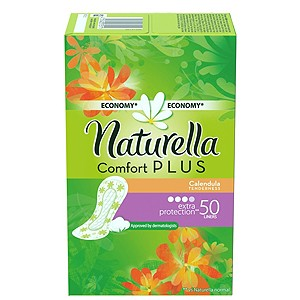 Naturella Comfort Plus Calendula - Extra protection
