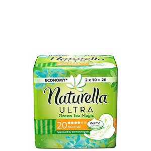 Naturella Ultra Green Tea - Normal
